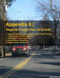 100 Wse Trucking NYMTCs 20182045 Regional Freight Plan By New York Metropolitan