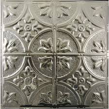 metal tin ceiling tiles panels for nail up drop suspended