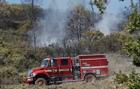 Stone Fire In Northern LA Engulfs Hundreds Of Acres   Time Quebec Pierce Fire Truck 502 Semi Ladder Youtube Pink Fire Truck Makes Its Way To Greenfield Support Families Firefighters Battle Raging Southern California Wildfire Mcdonald Observatory Introduces New Fire Marshal More During Texas Type Vi Muv Hme Inc Trucks Ready Respond Forest Mountain Us Forest Service Going To Idaho Brush Trucks Bshtruck And Wildfire Supplies Firefighter Statter911com Videos Firefighting News Department Afd Still Helping With Bastrop Kut Fires Threaten Thousands Of Homes 1 Body Found Kbtv Researchers Discover How Wildfires Create Their Own Weather