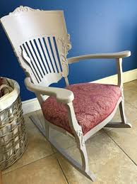 Painted Rocking Chair – The Millionaire's Daughter