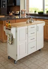 Narrow Kitchen Ideas Pinterest by Best 25 Small Kitchen Cart Ideas On Pinterest Kitchen Island