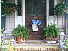 Screened In Porch Decorating Ideas by Decorations Front Porch Decor Ideas Pleasant Front Porch