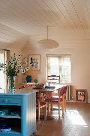 offene küche mit essbereich blau bild kaufen 12573055