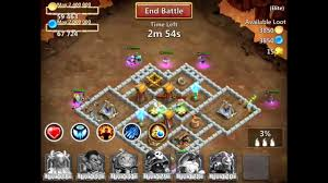 Pumpkin Duke Castle Clash 99 by Castle Clash Elite Dungeon 1 Youtube