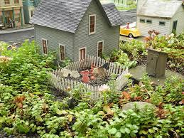 Railroad Gardening | The Mini Garden Guru From TwoGreenThumbs.com Huge Freight Train Gets Inside A Backyard Muscle Cars Zone Carolwood Pacific And Other Railroads Imageering Disney Astonishing Private Model Railroad In German Youtube S L Shortline Youtube Ideas Grizzly Flats Railroad Nthe Emma Nevada Locomotive Passenger Railroad 7 14 Zoll Gartenbahn Large Scale Wwwgpdtoytrainmuseumcom Riverside Mans Personal Set Of Mini Trains On Track For Memorial Shandon By Diamond Car Works Hydraulic Locomotive Build Tips My Centralia Garden Farm Outdoors Pinterest Gardens In