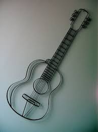 Really Cool Guitar Wall Art From Giftyourguy