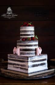 Mason Rustic Semi Naked Chocolate Grooms Cake Delivered To The Thistle Springs Ranch