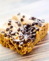 Weight Watchers Pumpkin Fluff Nutrition Facts by Weight Watcher U0027s Pumpkin Chocolate Chip Bars Recipe Chocolate