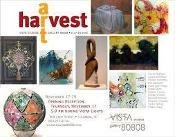 100 Hope Street Studios Vista Lights Harvest Art At Vista November 17 Michel McNinch