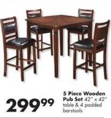 wooden pub table sets foter