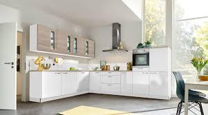 helle l küche nolte küchen mit front in hochglanz arcticweiss