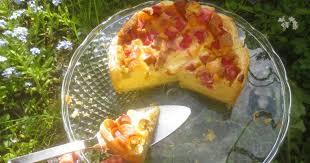 barbaras spielwiese rhabarber schmandkuchen