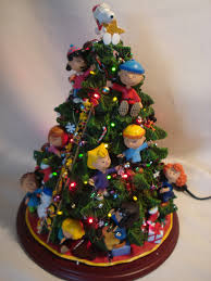 Ebay Christmas Trees With Lights by Danbury Mint Light Up The Peanuts Christmas Tree Ebay The