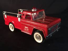 VINTAGE STRUCTO TOYS PRESSED STEEL FIRE TRUCK MODEL Vintage 1950s Structo Cattle Farms Inc Toy Truck And Trailer 1950s Structo Toys Steel Army Truck Vintage Metal Toy Wrecker Truck Parts Toys Buddy L Tow 1940s Pinterest Very Early Vintage Pressed Dump 4900 Childrens Books Flash Cards Colctible Steel Diecast Cadillac No 7375 Hp Elrado Brougham Concept Lloyd Ralston Nice Yellow Truckgreen Trailer Yellow Steam Shovel Barrel Windup Red Blue C