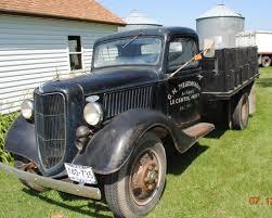 100 Ford 1 Ton Truck Lot 936 To 2 Ton Grain Truck 4speed Flathead V8 No