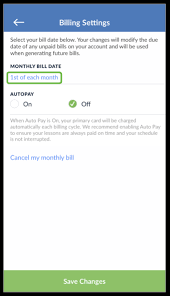 How do I change my billing date from my iPhone or iPad – Help Center