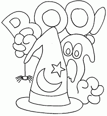 Free Easy Halloween Coloring Pages