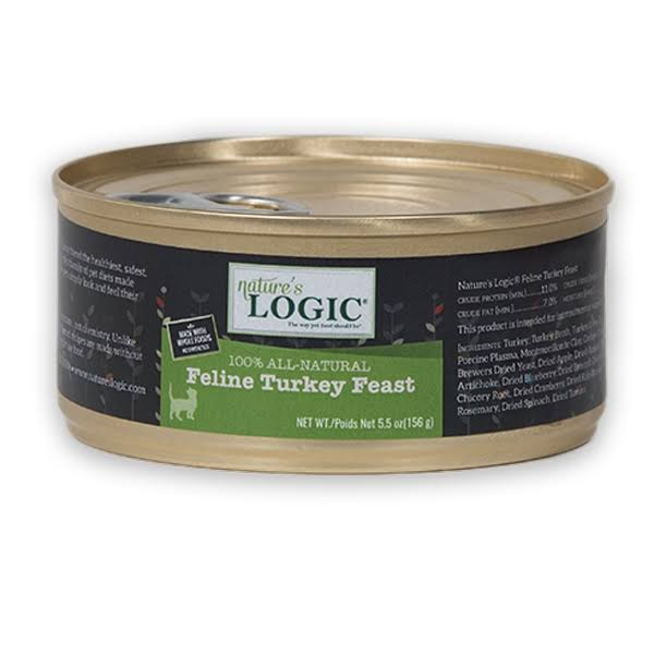 Nature's Logic Feline Turkey Feast 5.5oz