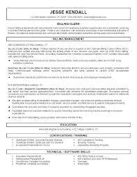 Medical Coding Resumes Billing And Resume Sample