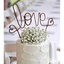 LOVE Rustic Wedding Cake Topper Banner