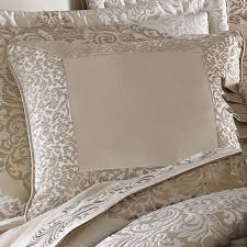 J Queen Brianna Curtains by La Scala Medallion Comforter Bedding By J Queen New York
