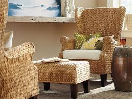 Pottery Barn Seagrass Club Chair by Incredible Seagrass Wingback Chair Seagrass Wingback Ottoman