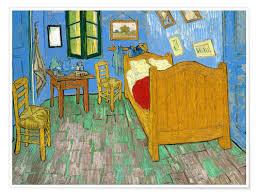 premium poster gogh s schlafzimmer in arles