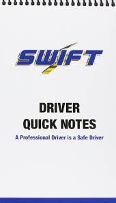 100 Swift Trucking Reviews Driver Quick Notes 0634949219690 Amazoncom Books