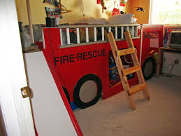 Bedroom: Fire Truck Bunk Bed For Inspiring Unique Bed, Fire Engine ... Boysapos Fire Department Twin Metal Loft Bed With Slide Red For Bedroom Engine Toddler Step 2 Fireman Truck Bunk Beds Tent Best Of In A Bag Walmart Tanner 460026 Rescue Car By Coaster Full Size For Kids Double Deck Sale Paw Patrol Vehicle Play Curtain Pop Up Playhouse Bedbottom Portion Can Be Used As A Bunk Curtains High Sleeper Cabin And Bunks Kent Large Image Monster