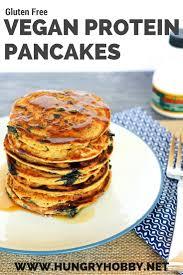Vegan Bisquick Pumpkin Pancakes by Gluten Free Vegan Protein Pancakes Hungry Hobby