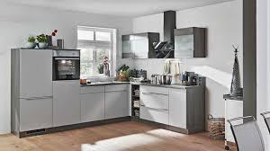 l küche win express mit front in matt hellgrau