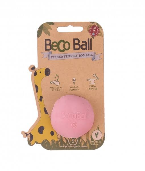 BeCo Pets Ball Dog Toy - Pink, Small