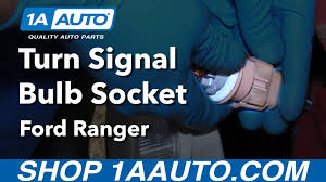 how to install replace turn signal bulb socket 2001 ford ranger