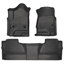 Husky Liners 98231 Silverado/Sierra Front And Rear Floor Liners ...