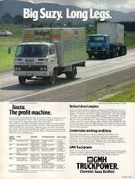 100 Budget Trucks Rental 1978 Isuzu SBR JCR Chassic Cab SPZ Prime Mover Or Chassi