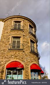 Architectural Details: Round Stone Building And Red Awnings ... Custom Canvas Business Window Awnings Forman Signs Pergola Design Wonderful Istock Pergola Phoenix Best Patios In Bullnose Awning Fixed Styles Quarter Round Castle Cubby Backyard Fun For Kids All Year Round Residential Gallery Wedge Alinium Entrance Dome Youtube Ridgewood Awning Bromame Blue Shop Vintage Outdoor Stock Illustration Img Harvest Design Half Suppliers And Manufacturers