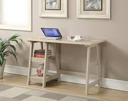 White Computer Desk Wayfair by Amazon Com Convenience Concepts Designs2go Trestle Desk