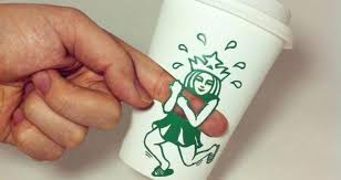 Featured Image For Korean Artists Amazing Doodles Imagine The Secret Life Of Starbucks Logo