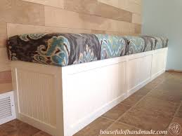 Dining Room Built In Bench With Storage From Houseful Of Handmade