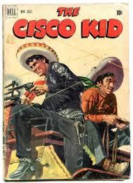 Cisco Kid 6 1951 Dell Golden Age Western VG
