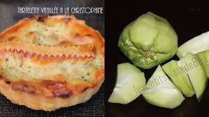 cuisiner les christophines tartelettes vanillees aux christophines les petits plats de béa