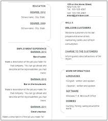 Resume Template For Templates Download Windows 7 Wordpad Free Cv Downl