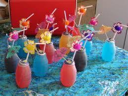 For The Kiddos At The Luau I Hate Huggie Juices But Those
