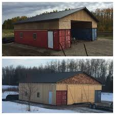 100 Shipping Container Homes Canada Our Seacan Barn Alberta