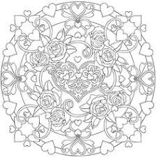 Page 3 Heart To Stained Glass Coloring Book By Dover