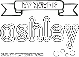 Coloring Pages That Say Names Page