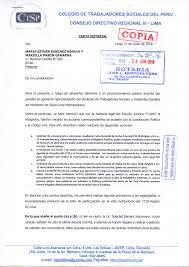 Colegio De Trabajadores Sociales Del Perú