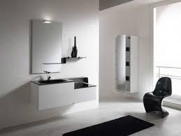 diy bathroom storage ideas glass panel door circle glass mirror