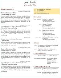 Examples Of Resume Skills Unique Munication For New