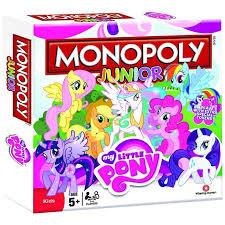 Monopoly Junior My Little Pony Bordspel Uk BoardKids Board GamesMonopolyGame IdeasMy